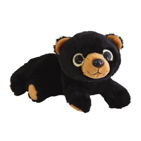 Pencil Case Plush Bear Black