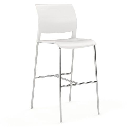 Game Barstool White