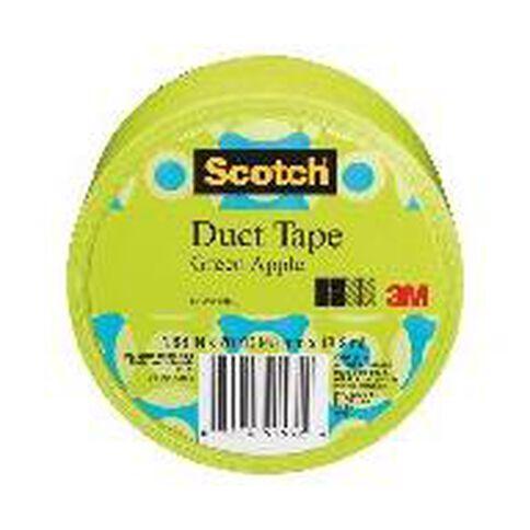 Scotch Duct Craft Tape 48mm x 18.2m Apple Green