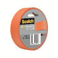 Scotch Masking Craft Tape 25mm x 18m Orange