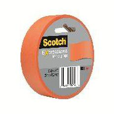 Scotch Masking Craft Tape 25mm x 18m Orange