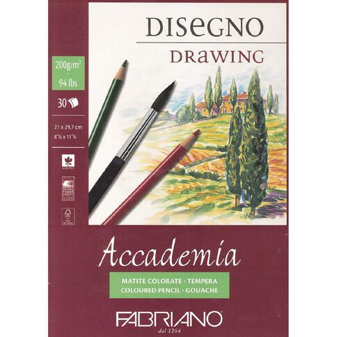 Fabriano Accademia 200gsm A4 A4
