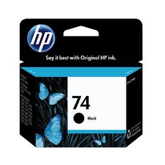HP Ink Cartridge 74 Black (200 Pages)