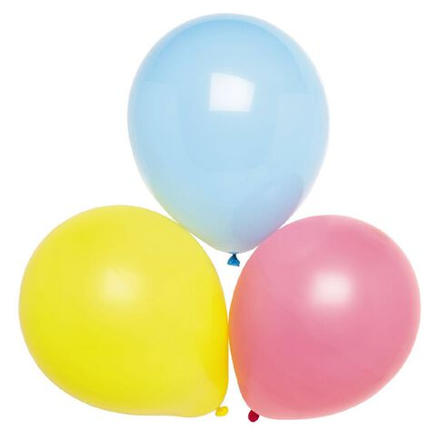 Party Inc Balloons Decorator Colours 25cm 25 Pack