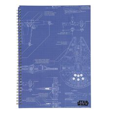 Star Wars Notebook Softcover A4