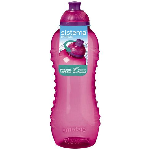 Sistema Twist Top Drink Bottle 460ml Assorted