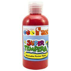 FAS Paint Super Tempera 250ml Crimson Red