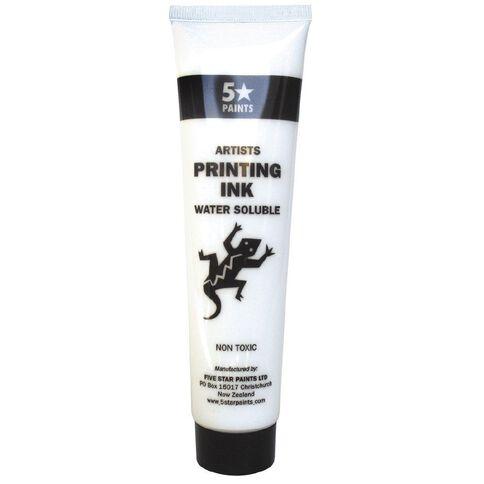 Fivestar Artists Water Based Ink White 115 ml Tube