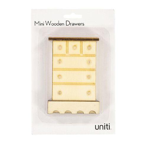 Uniti DIY Wood Mini Closet