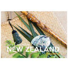 Calendar 2019 NZ Kiwiana A5