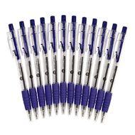 WS Ball Pens Sprint Grip 12 Pack Blue
