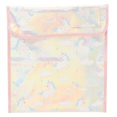 Kookie PVC Iridescent Unicorn Homework Bag