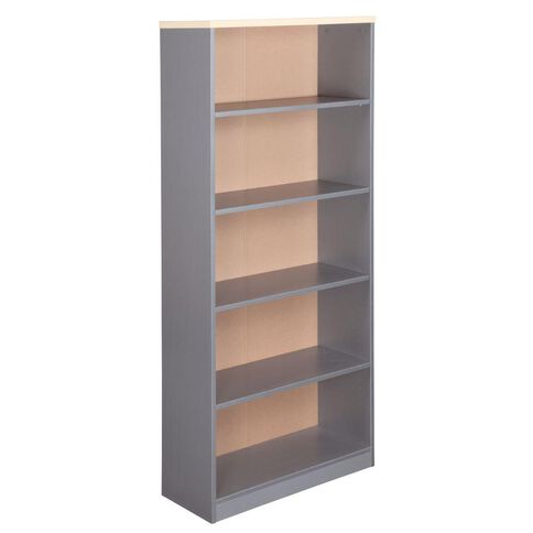 EKO Bookcase 1800 Nordic Maple/Silver