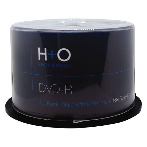 H+O Dvd-R 16X 4.7 GB 50-Pack