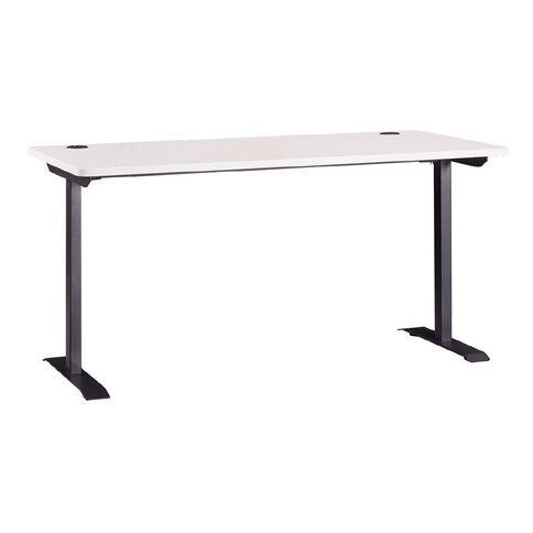 Workspace Office Metal Leg Desk White 1500