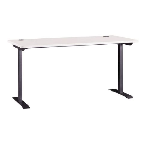 Workspace Office Brand Metal Leg Desk White 1500 White