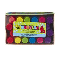 Unique Party Favours Bubbles 24 Pack Multi-Coloured
