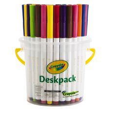 Crayola Supertips Washable Markers Deskpack 40 Pack