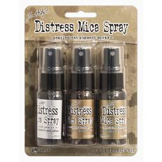 Ranger Tim Holtz Distress Mica Spray 3 Pack