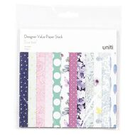Uniti Value Paper Stack 36 Sheet 6in x 6in