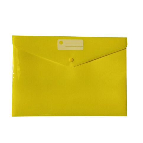 Impact Document Envelope Dome Yellow