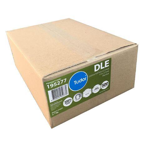 Tudor Envelope DLE Manilla Non Window Self Seal 500 Box