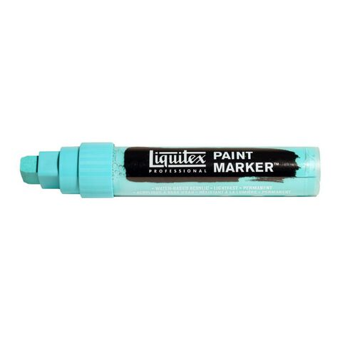 Liquitex Marker 15mm Bright Aqua Green