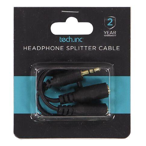 Tech.Inc Headphone Splitter Cable