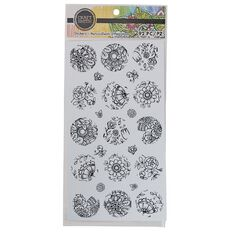Craft Smith Colouring Stickers Black Round