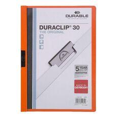 Durable Report Cover 30 Sheet Orange