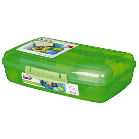 Sistema Bento Box Lunch Assorted 1.76L