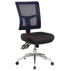 Jasper J Enduro Chair with Alloy Base Blue