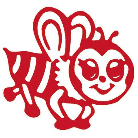 Xstamper Stamp Bee Red