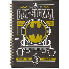 Batman Hardcover Notebook Spiral A4