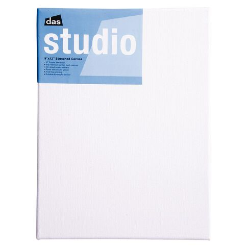 DAS Studio Canvas 9 x 12 White