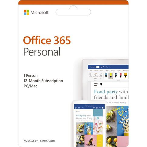 Microsoft Office 365 Personal 1 year 2019