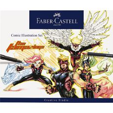 Faber-Castell Comic Illustration Set