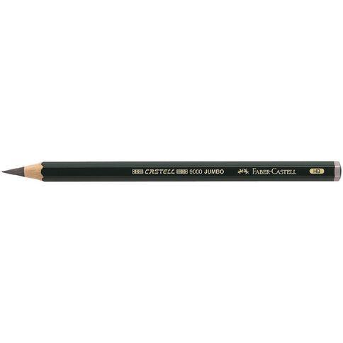 Faber-Castell Artist Grade 9000 Jumbo Pencil HB Grey