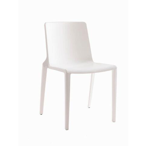 Buro Seating Meg Stacker Chair White