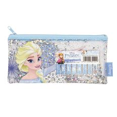 Frozen Name Pencil Case with Sparkles