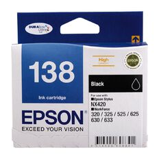 Epson Ink 138 Black (435 Pages)