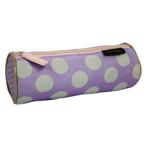 Polka Dot Design Tube Pencil Case