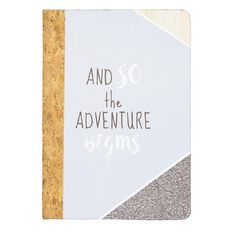 Uniti Fun & Funky Q3 Cork Notebook Adventure A5