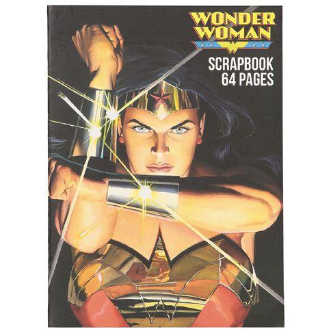 Wonder Woman Scrapbook 64 Page