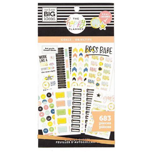 Me & My Big Ideas Sticker Book Goals