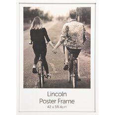 Uniti Box Poster Frame White A2 White A2