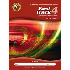 Ncea Year 12 Mathematics Fast Track Workbook 4
