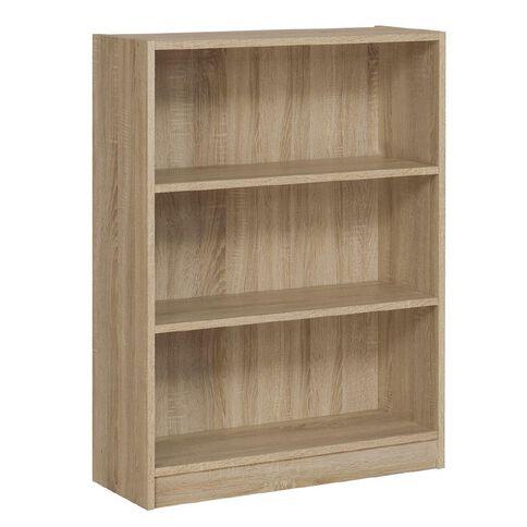 Workspace Soho 3 Tier Bookcase Oak