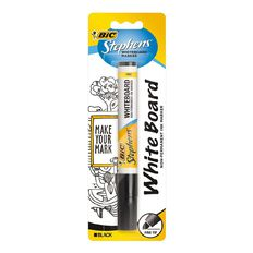 Stephens Fine Whiteboard Marker Black