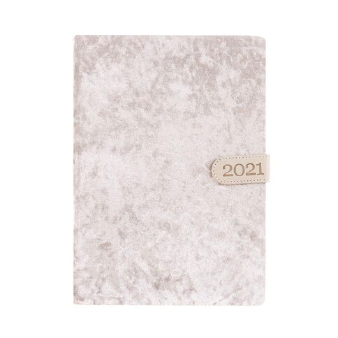 Dats Diary 2021 Day To Page With Clasp Assorted A4